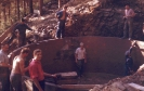 1961 Der Bau des ersten Wasserbehälters